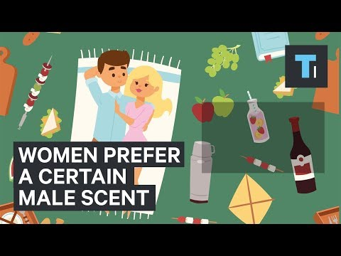 Scientists discovered that women prefer the smell of certain men over others