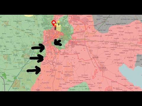 Kurdistán, Irak y Siria contra el Daesh: Decisiva batalla en Aleppo, Manbij casi reconquistada y ...