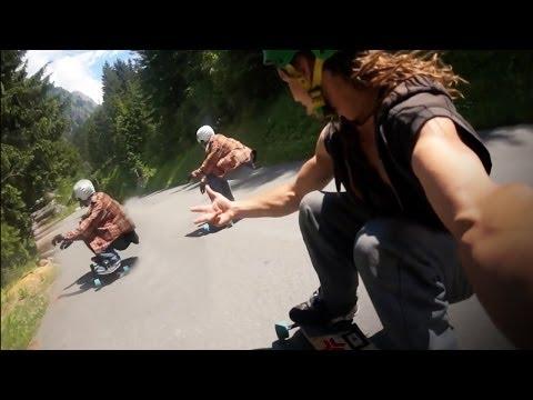 Switzerland is Beautiful | Street longboard Skate session