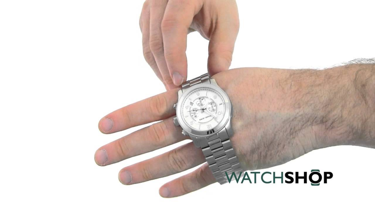 7c4a0712f271 Men s Michael Kors Runway Chronograph Watch (MK8086) - YouTube