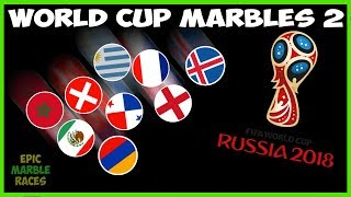 Video FIFA 2018 World Cup Marble Race - Round of 16 download MP3, 3GP, MP4, WEBM, AVI, FLV Agustus 2018