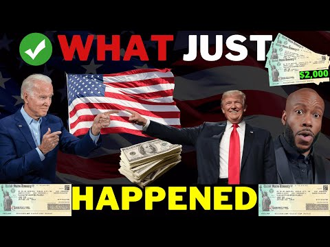 MORE TRUMP STIMULUS! $2000 4th Stimulus Check Update + Unemployment Boost + $1 Dogecoin Crypto