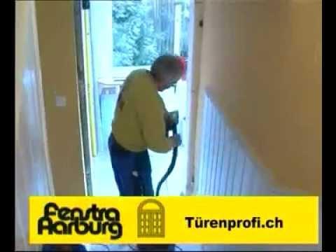Turenprofi Ch Montage Einer Haustur Youtube