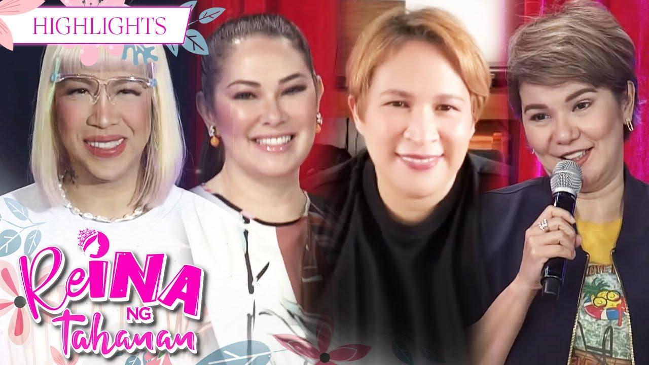 Download Vice Ganda happily chats with Ruffa, Amy and Janice | It's Showtime Reina Ng Tahanan