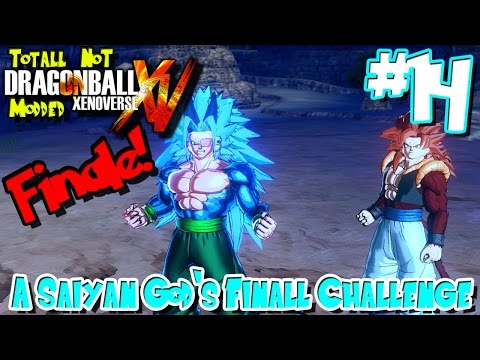 A Saiyan God's Final Challenge! | Totally NOT Modded Dragon Ball Xenoverse - Episode 14 (FINALE!)