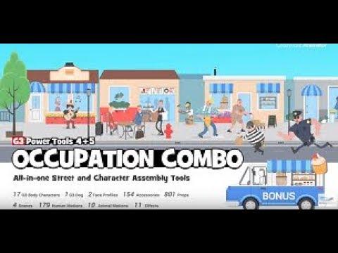 CrazyTalk Animator 3 - G3 Occupation Combo