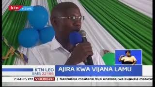 Vijana katika Kaunti ya Lamu wapata ajira