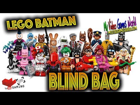 Lego Batman | Blind Bag | Unboxing | Review | Live | En Vivo | My Video Games World