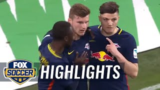 Video Gol Pertandingan Augsburg vs RasenBallsport Leipzig