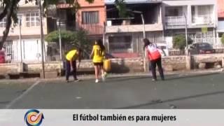 Fútbol Femenino en la comuna 8 Cali