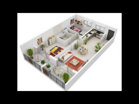 Desain Rumah Minimalis Modern 1 Lantai 3 Kamar 3D Keren : www.rumahminimalis21.net