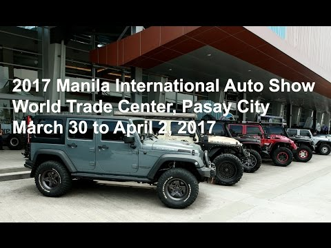 Manila International Auto Show 2017
