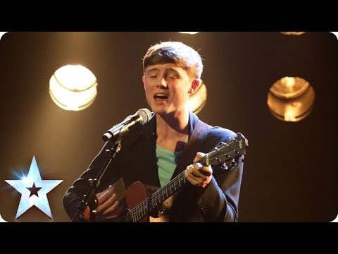 James Smith sings Crazy  Britains Got Talent 2014