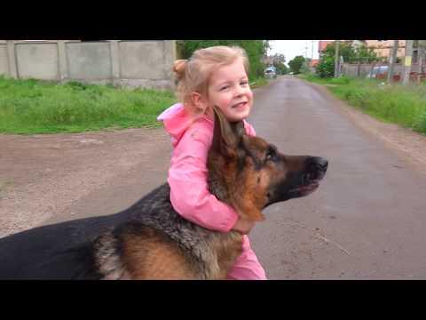 Маленькая-дрессировщица-Варя.-little-tamer-varya.