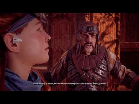 Horizon Zero Dawn The Sun Shall Fall - Defuse the bomb, defeat Dervahl and the Glinthawks