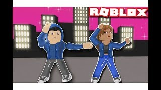 challenge dancing in front of the jury in the roblox game!