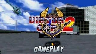 Virtua Cop 2 PC Gameplay