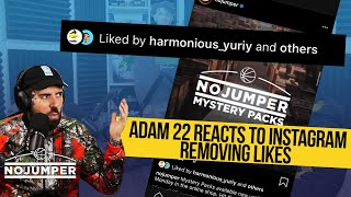 Adam22 Reacts to Instagram Removing Likes & Discusses Being Back on Facebook