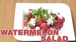 Watermelon Salad Recipe, Feta Cheese