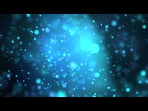 8K Universal Blue Bokeh Background 4320p Animation