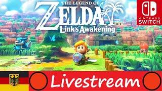 The Legend of Zelda: Link's Awakening 🔴 LiveStream ★ 01 ★ Deutsch