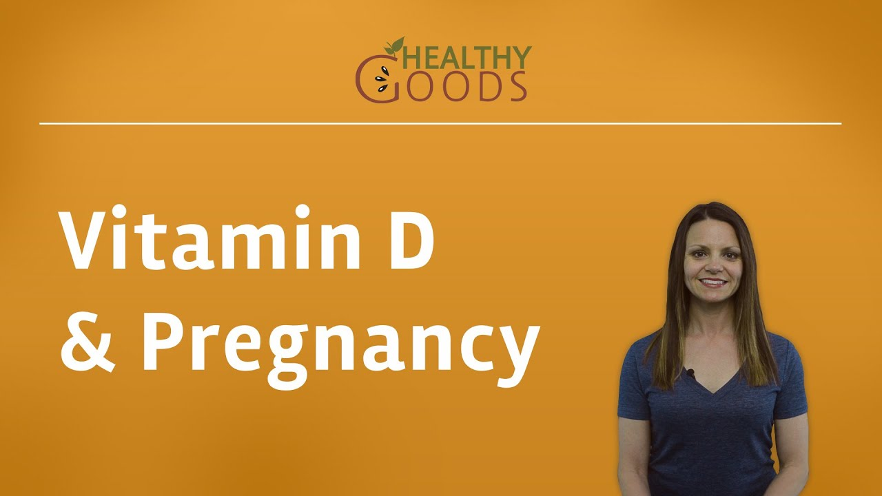 Vitamin D and Pregnancy - YouTube