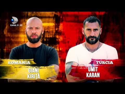 Exatlon Romania (05.03.2018) - Romania - Turcia - Grecia, primul joc din turneul international!