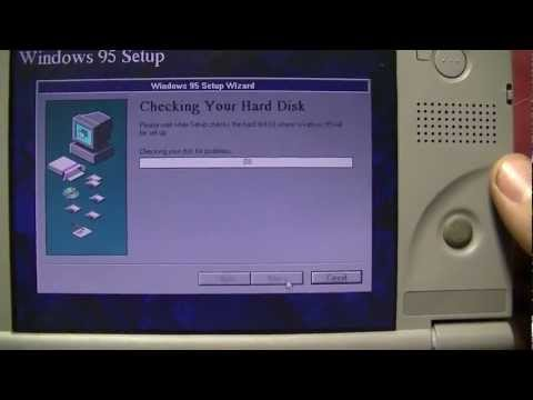 Portable Retro Gaming Computer, Toshiba Libretto 70CT full tour & teardown.