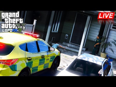 GTA 5 - LSPDFR New Zealand - St John's Ambulance Hyundai Santa Fe Sprint Car