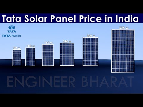 Tata Solar Panel Price List in India | Tata Power Solar Rooftop Panel for Home Price in India