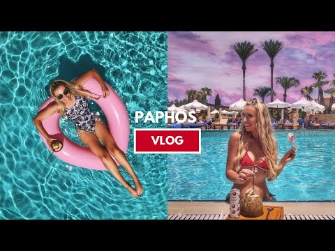 PAPHOS HOLIDAY VLOG - COME ON HOLIDAY WITH ME TO CYPRUS + INSTAGRAM TRAVEL TIPS!