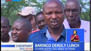 Death toll in Baringo food poisoning rises to three