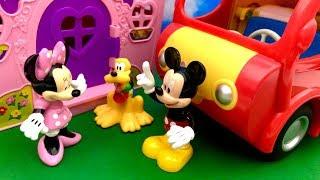 Myszka Miki i Myszka Minnie ☺ Spontaniczne odwiedziny i kurczak ☺ Bajka dla dzieci PO POLSKU