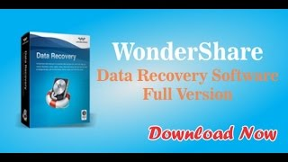 How to recover Lost and deleted data | WonderShare data recovery software training video