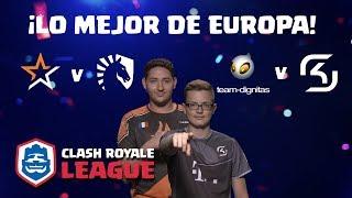 ¡CRL Europa: Allegiance vs. Team Liquid | Dignitas vs. SK Gaming!