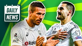 Deutschland: Rekord-Rot & Retter Gündogan! Poldi bald wieder zu Köln?