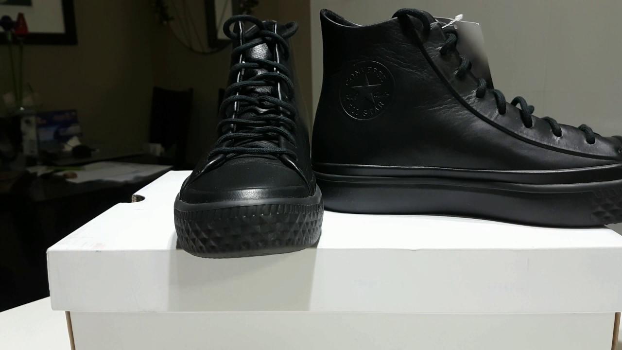 Converse Chuck Modern Lux Black - YouTube