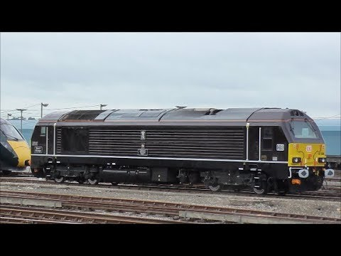 12 Hours Of Freight @ Eastleigh & Shawford Stations - 2nd October 2018