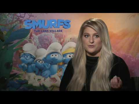 "Smurfs: The Lost Village: Meghan Trainor ""Smurfmelody"" Movie Interview"