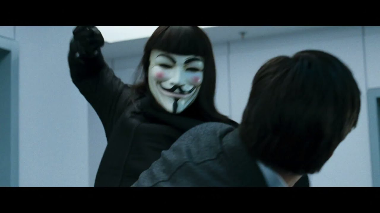 V For Vendetta Trailer Youtube