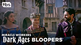 Miracle Workers: Dark Ages | Light Moments Blooper Reel | TBS