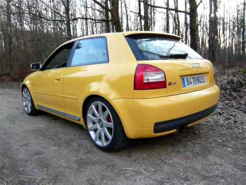 audi s3 2002 exhaust oettinger youtube. Black Bedroom Furniture Sets. Home Design Ideas