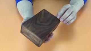 Видеообзор шкатулки деревянной «Узор»