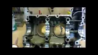 Crankcase build up of VW  2 litre aircooled engine