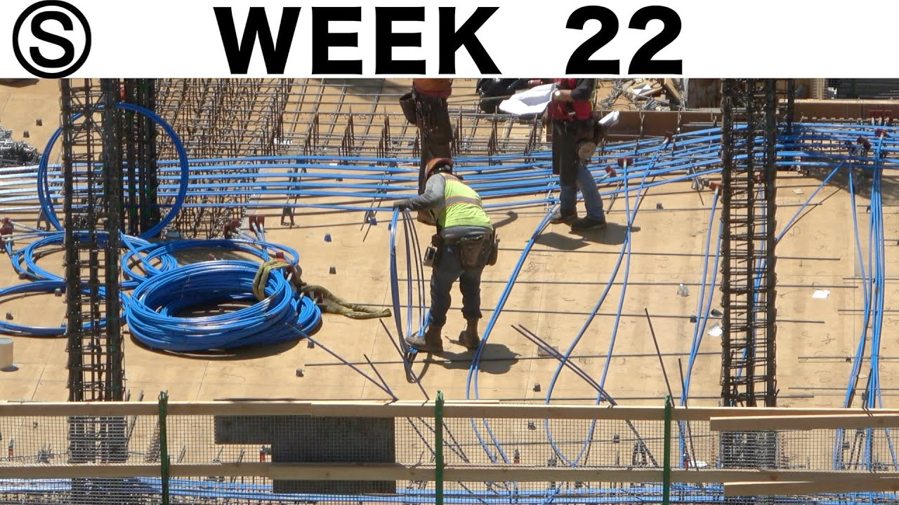 One-week construction time-lapse with closeups: Week 22 of the Ⓢ-series
