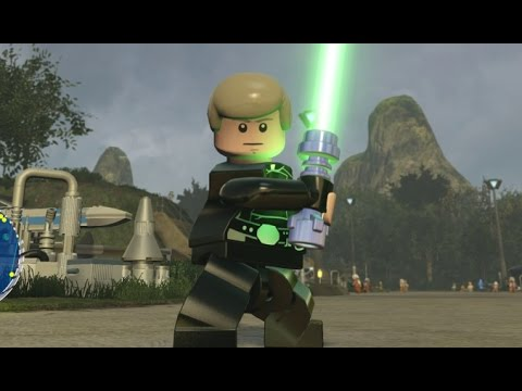LEGO Star Wars: The Force Awakens - D'Qar 100% Guide - All Collectibles