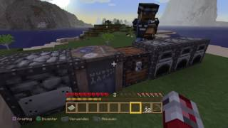 Let's play Minecraft Captive PS4 Version German#001 Hunger+Tod