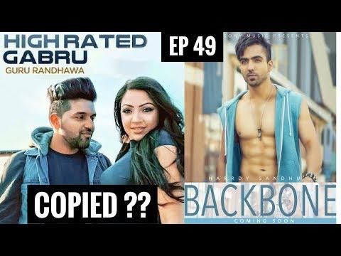 HIGH RATED GABRU COPIED?? || Copied Punjabi Songs (Part 02) || Guru Randhawa || Hardy Sandhu
