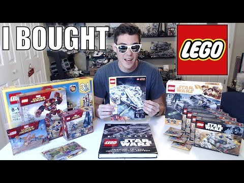 I Bought A Lot of LEGO This Week!! | Infinity War, Creator, Series 18, Solo: A Star Wars Story!