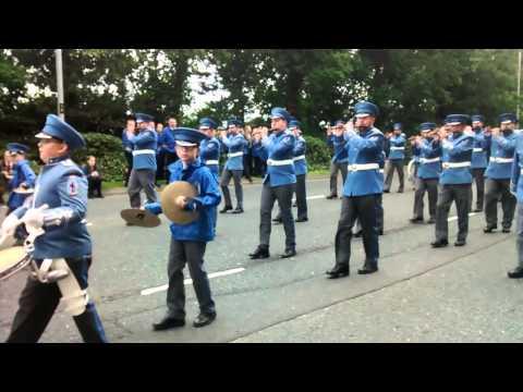 Glasgow Rangers Flute Band @ Derry Day 2015